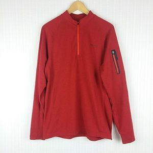 3/50% MERRELL | MENS OptiWick UPF 1/4 Zip Pullover